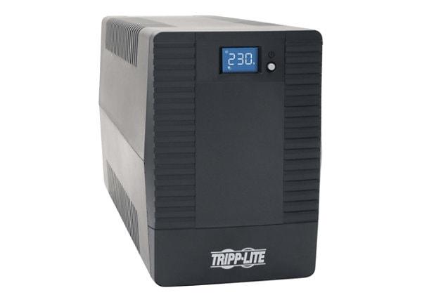 Tripp Lite 1000VA 600W UPS Battery Back Up Tower AVR 4 Schuko 230V USB LCD