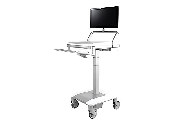 Humanscale TouchPoint Mobile Technology Cart T7 Non-Powered, Standard PC Ga
