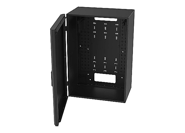 Legrand 8RU Vertical Wall-Mount Cabinet with Full Door - 36in Height TAA sy