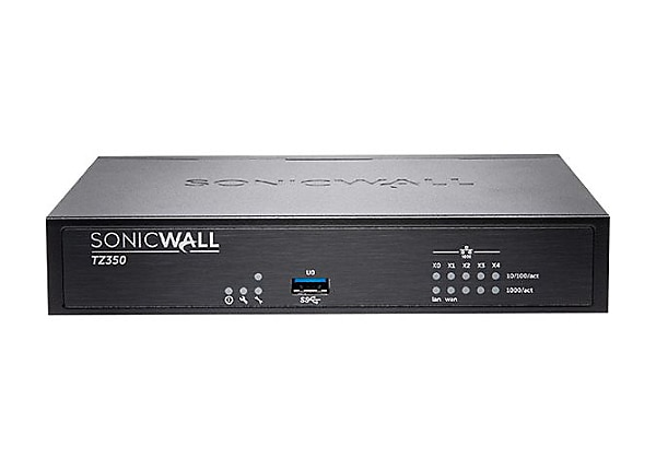 SonicWall TZ350 - Advanced Edition - security appliance - with 1 year Total
