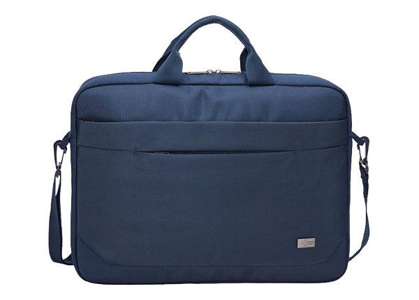 "Case Logic Advantage Attache Case for 15.6"" Notebook - Dark Blue"