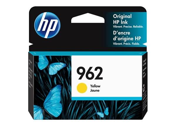 HP 962 - yellow - original - Officejet - ink cartridge