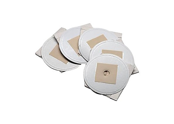 MetroVac DataVac DV-5PBRP Disposable Paper Bags - 5-Pack