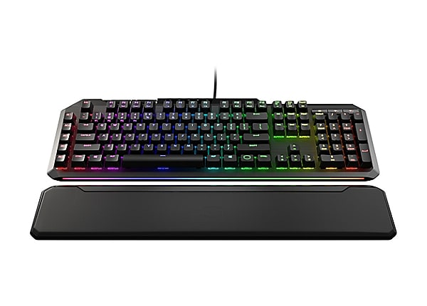 Cooler Master MasterKeys MK850 - keyboard - US - gunmetal black