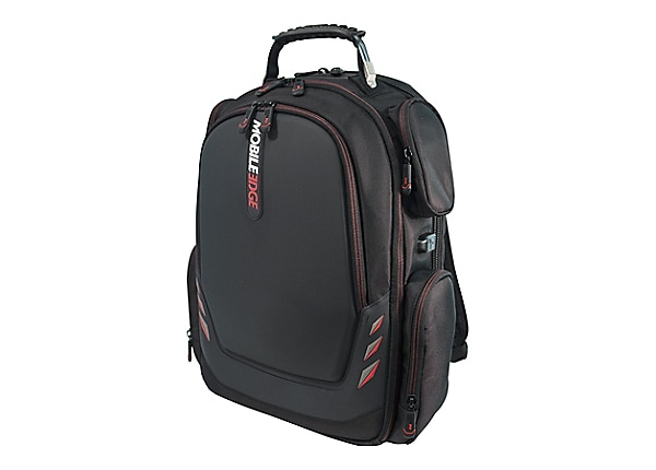 """Mobile Edge Core Gaming 17.3"""" to 18"""" ScanFast Backpack with Molded Front Pa"""