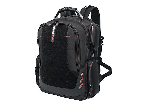 "Mobile Edge Core Gaming 17.3"" to 18"" ScanFast Backpack with Velcro Panel no"