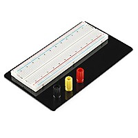 Teq SparkFun Classic Aluminum Plate Breadboard with Power Buses