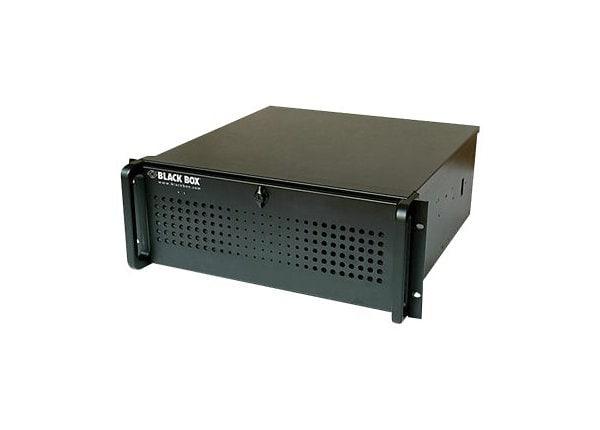 Black Box Radian Video Wall Processor Chassis 9-Slot - rack-mountable - Cor