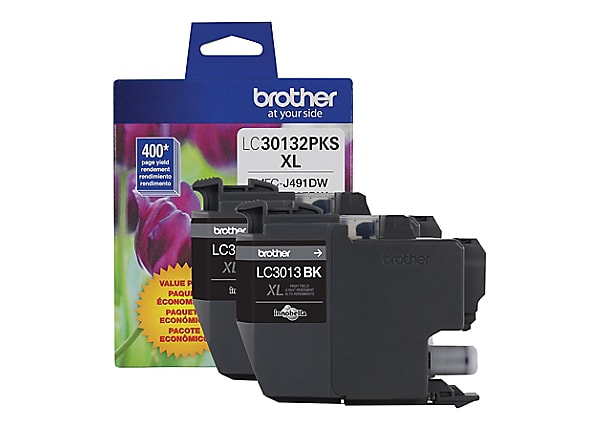 Brother LC30132PKS - 2-pack - High Yield - black - original - ink cartridge