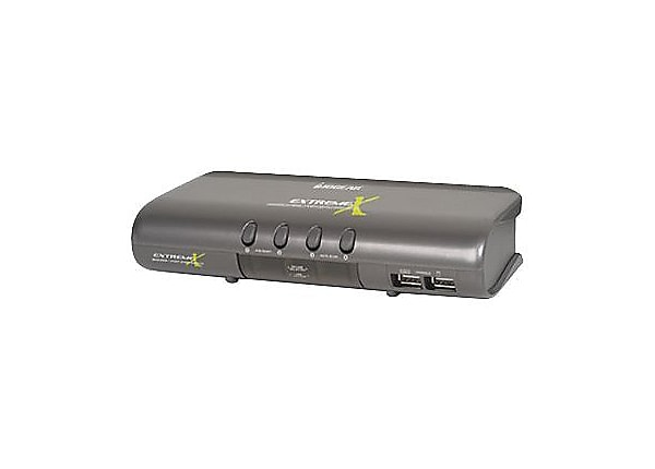 Iogear Extreme Multimedia KVMP Switch with Cables 4-Port