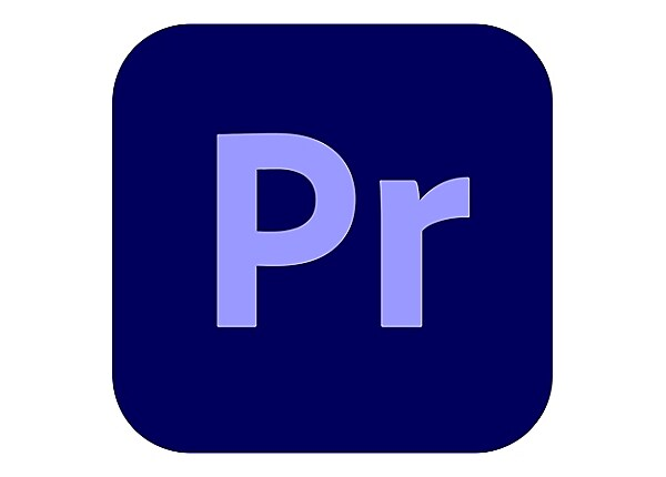 Adobe Premiere Pro CC for Enterprise - Enterprise Licensing Subscription Ne