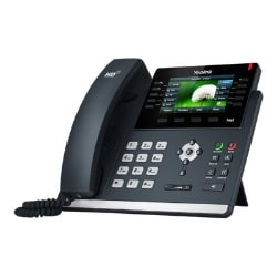 Yealink SIP-T46S - VoIP phone with caller ID - 3-way call capability