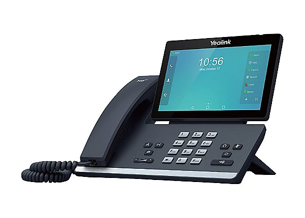 Yealink SIP-T56A - VoIP phone - with Bluetooth interface - 5-way call capab