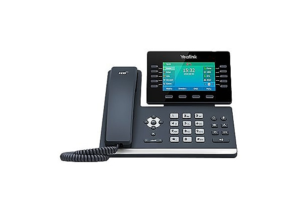 Yealink SIP-T54S - VoIP phone - with Bluetooth interface with caller ID - 3