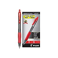 Pilot G-2 - rollerball pen - red (pack of 12)