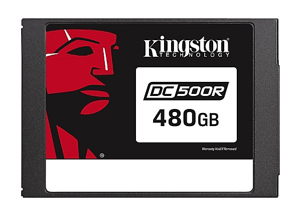 Kingston Data Center DC500R - solid state drive - 480 GB - SATA 6Gb/s