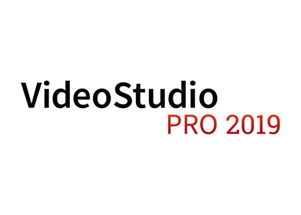 Corel VideoStudio Pro 2019 - license - 1 user