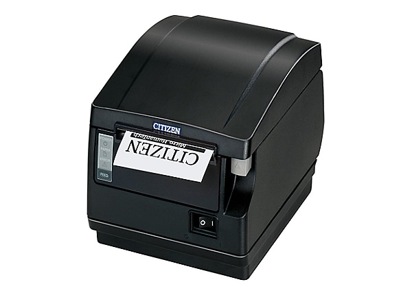 Citizen CT-S600 Type II 203dpi 200mm/s Thermal POS Receipt Printer - Black