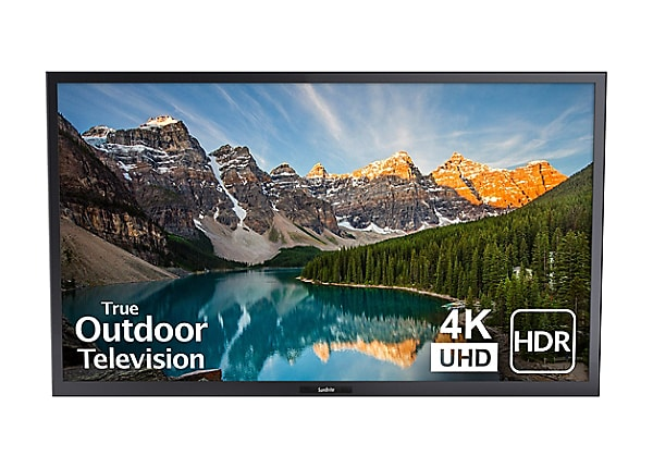 "SunBriteTV SB-V-55-4KHDR-BL Veranda Series - 55"" LED-backlit LCD TV - 4K -"