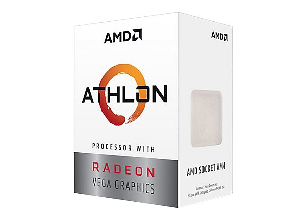 AMD Athlon 200GE / 3.2 GHz processor