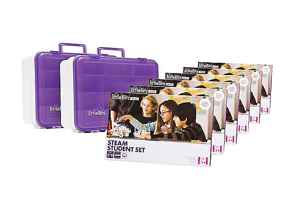 Teq littlebits STEAM Education Class Pack for 18 Students