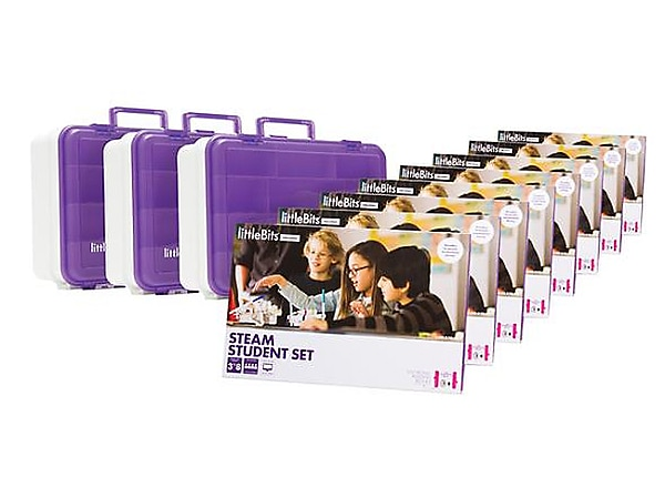 Teq littlebits STEAM Education Class Pack for 24 Students