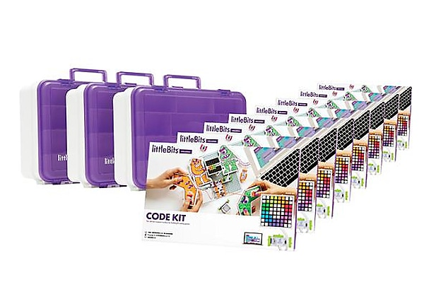 Teq littlebits Code Kit Education Class Pack for 24 Students