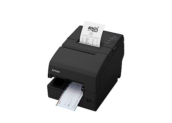 Epson OmniLink TM-H6000V Multifunction Thermal Receipt Printer - Black