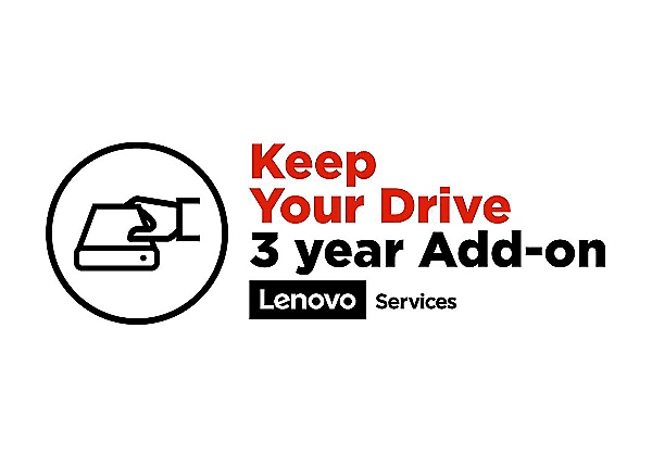 Lenovo Keep Your Drive - extended service agreement - 3 years