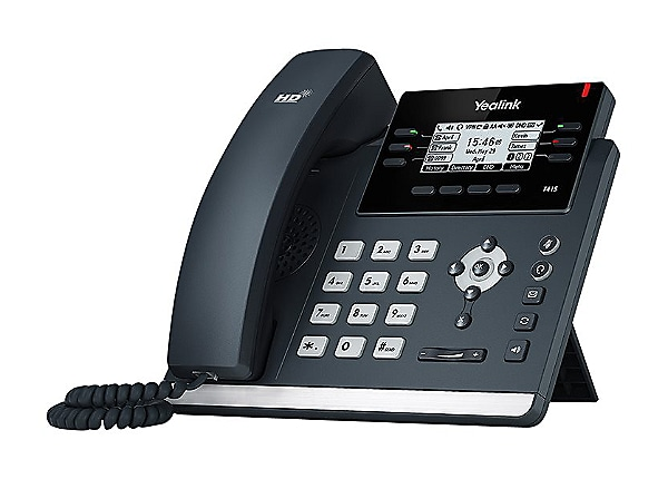 Yealink SIP-T41S - VoIP phone with caller ID - 3-way call capability