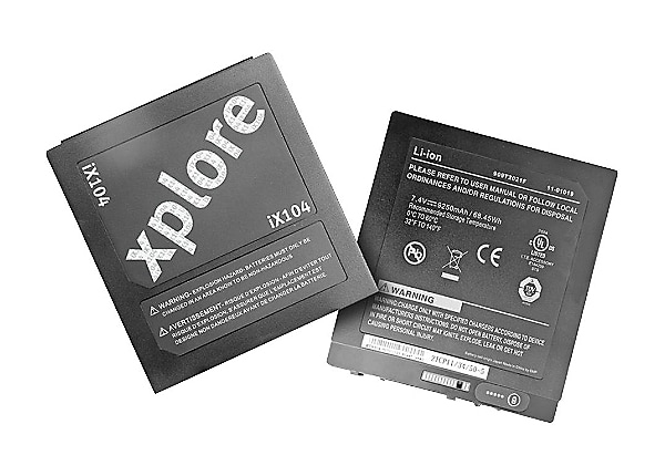 Xplore Additional Battery - tablet battery - Li-Ion - 77.4 Wh