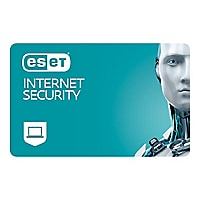 ESET Internet Security - subscription license (1 year) - 10 computers