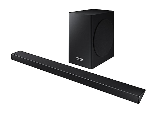 Samsung HW-Q60R - sound bar system - for home theater - wireless