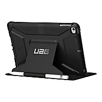 UAG Rugged Case for iPad Mini (2019) & iPad Mini 4 - Metropolis Black - fli