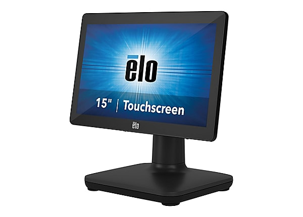 EloPOS System i3 - all-in-one - Core i3 8100T 3.1 GHz - 4 GB - SSD 128 GB -