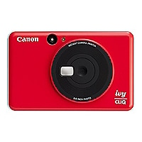 Canon IVY CLIQ Instant Camera Printer - Ladybug Red