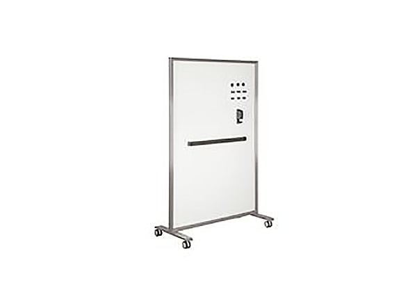 VARIDESK - Marker Board - Glass 48x76 - Silver