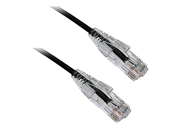 Axiom BENDnFLEX Ultra-Thin - patch cable - 4 ft - black - TAA Compliant