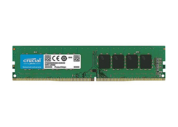 Micron Crucial 8GB DDR4-3200 UDIMM Memory Module