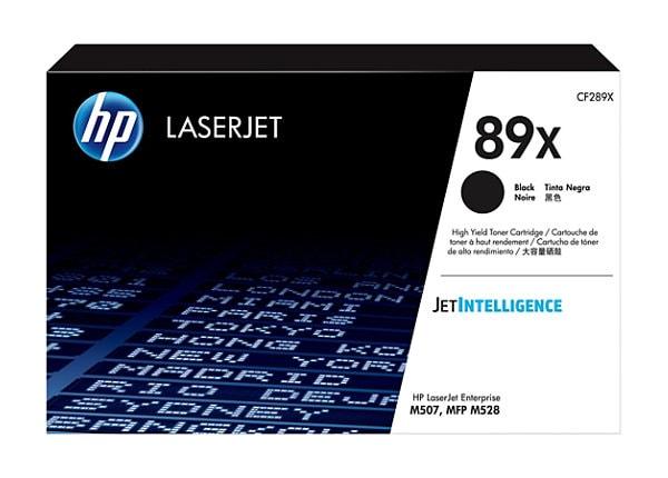 HP 89X - High Capacity - black - original - LaserJet - toner cartridge (CF2