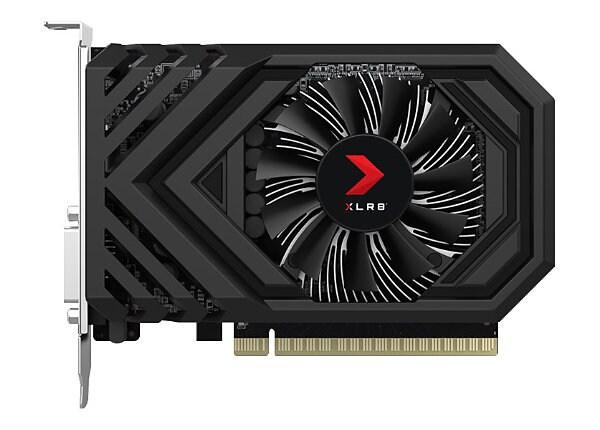 PNY XLR8 GeForce GTX 1650 - Overclocked Edition - graphics card - GF GTX 16