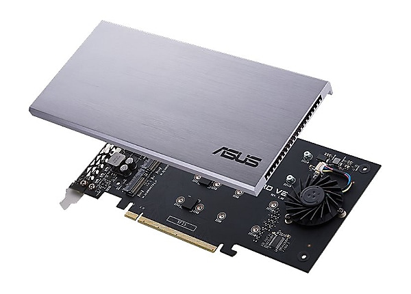 ASUS HYPER M.2 X16 CARD V2 - interface adapter - M.2 Card - PCIe 3.0 x16