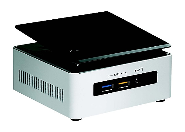 Intel Next Unit of Computing Kit NUC5i3RYHSN - mini PC - Core i3 5005U 2 GH