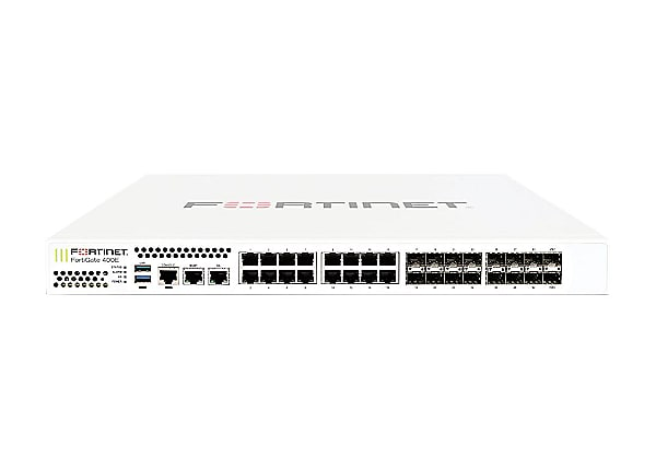 Fortinet FortiGate 401E - security appliance - with 1 year FortiCare 24X7 S