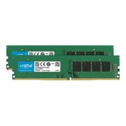 Crucial 2x 16GB UDIMM 3200MT/s Unbuffered DDR4 Non-ECC Server Memory Kit