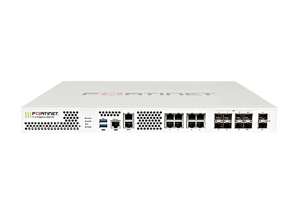 Fortinet FortiGate 600E - security appliance - with 5 years FortiCare 24X7