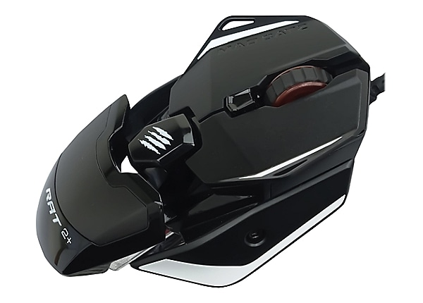 Mad Catz THE AUTHENTIC R.A.T. 2+ GAMING MOUSE - Black
