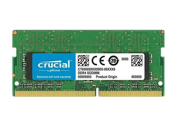 Crucial 8GB DDR4 3200MT/s SODIMM Unbuffered Server Memory