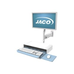 "Jaco Wall Arm with Standard 2"" Track Wall Extrusion"