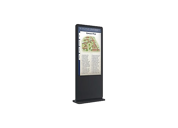 """Mustang Professional Kiosk MPKDI-FP49TB with BrightSign media player 49"""" Cl"""